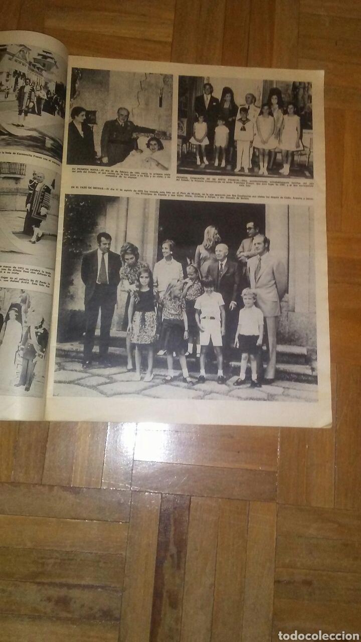 Coleccionismo de Revista Hola: Revista Hola n°especias Franco ha muerto.(Ver fotos y leer descripción) - Foto 3 - 222089470