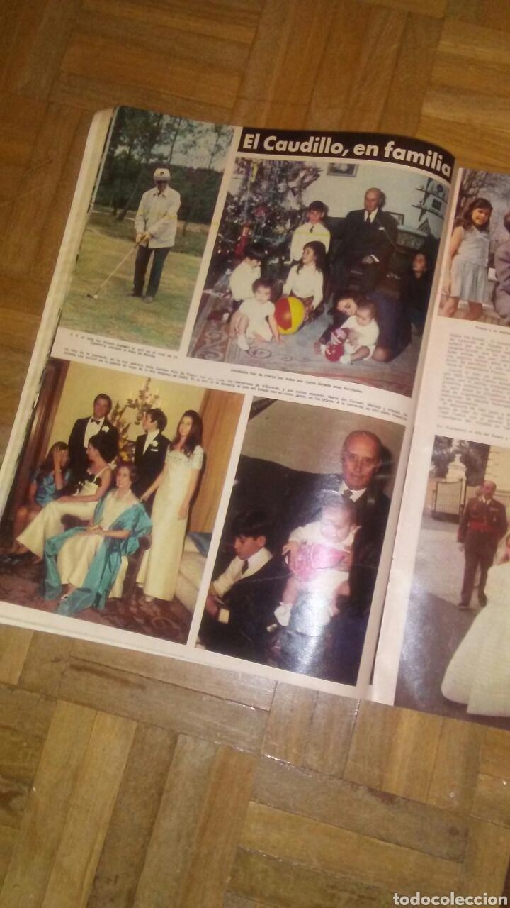 Coleccionismo de Revista Hola: Revista Hola n°especias Franco ha muerto.(Ver fotos y leer descripción) - Foto 4 - 222089470