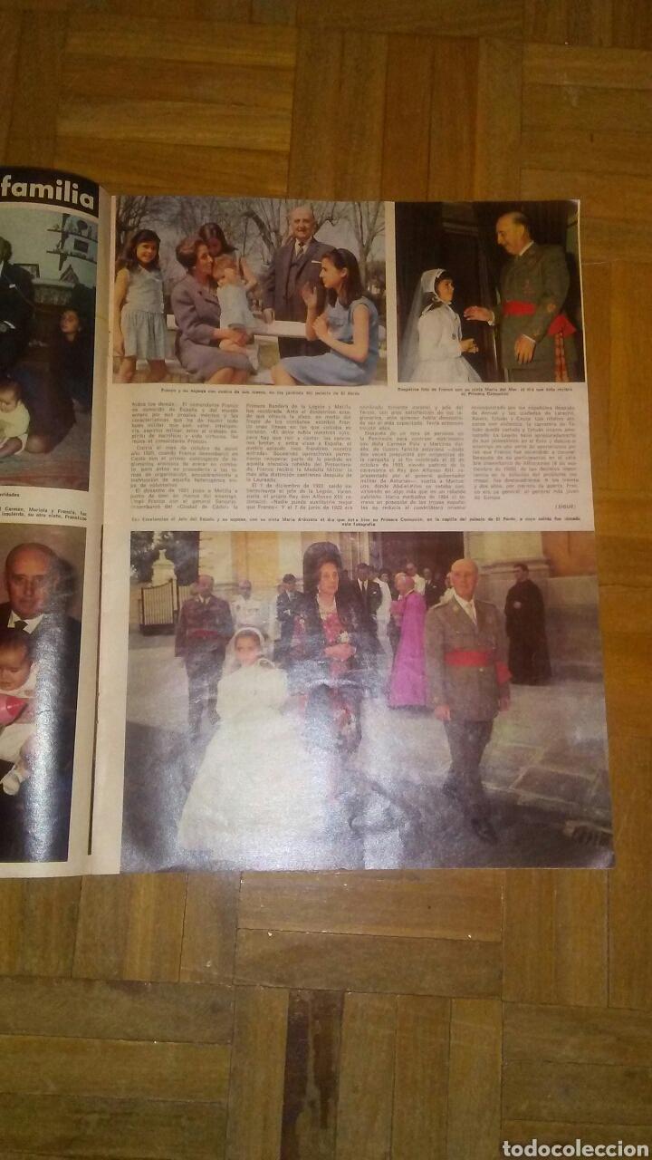 Coleccionismo de Revista Hola: Revista Hola n°especias Franco ha muerto.(Ver fotos y leer descripción) - Foto 5 - 222089470