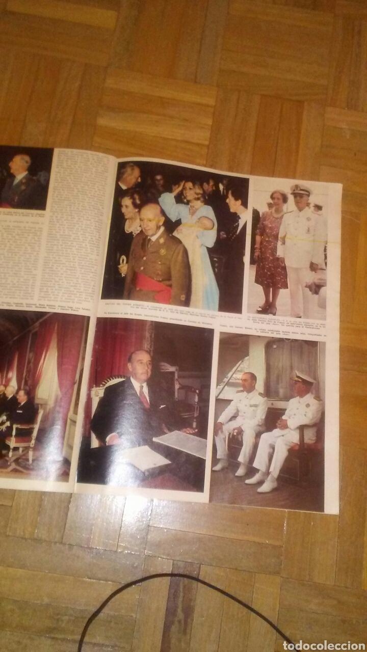 Coleccionismo de Revista Hola: Revista Hola n°especias Franco ha muerto.(Ver fotos y leer descripción) - Foto 6 - 222089470