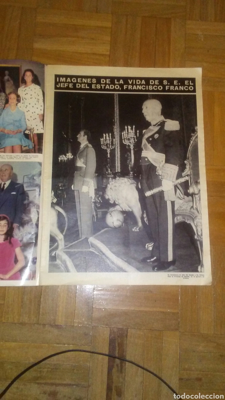 Coleccionismo de Revista Hola: Revista Hola n°especias Franco ha muerto.(Ver fotos y leer descripción) - Foto 12 - 222089470
