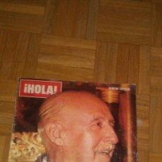 Coleccionismo de Revista Hola: REVISTA HOLA N°ESPECIAS FRANCO HA MUERTO.(VER FOTOS Y LEER DESCRIPCIÓN). Lote 222089470