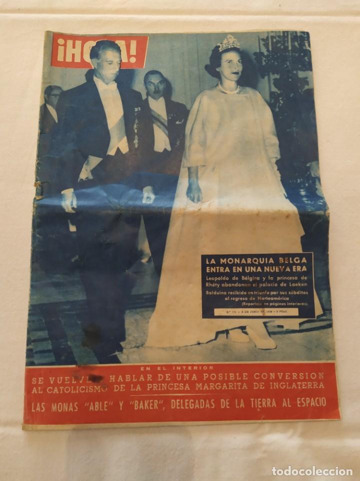 REVISTA HOLA NÚMERO 771 (Coleccionismo - Revistas y Periódicos Modernos (a partir de 1.940) - Revista Hola)