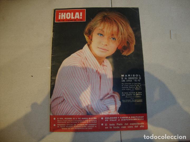 MARISOL REVISTA HOLA (Coleccionismo - Revistas y Periódicos Modernos (a partir de 1.940) - Revista Hola)