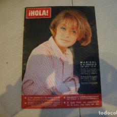 Coleccionismo de Revista Hola: MARISOL REVISTA HOLA. Lote 222114618