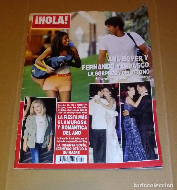 HOLA NÚM 3.610. OCTUBRE 2013. FAMILIA REAL, FIESTA MÁS GLAMUROSA, ANA BOYER.... (Coleccionismo - Revistas y Periódicos Modernos (a partir de 1.940) - Revista Hola)