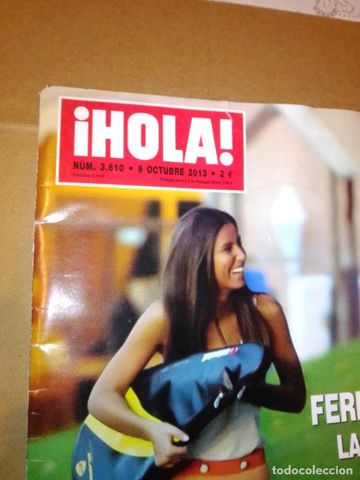 Coleccionismo de Revista Hola: Hola núm 3.610. Octubre 2013. Familia Real, Fiesta más glamurosa, Ana Boyer.... - Foto 2 - 222188515