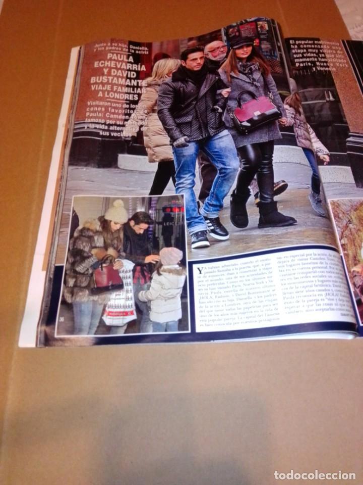 Coleccionismo de Revista Hola: Hola núm 3.626. Enero 2014. Doña Letizia, Shakira y Piqué, Andrea y Tatiana... - Foto 6 - 222189002