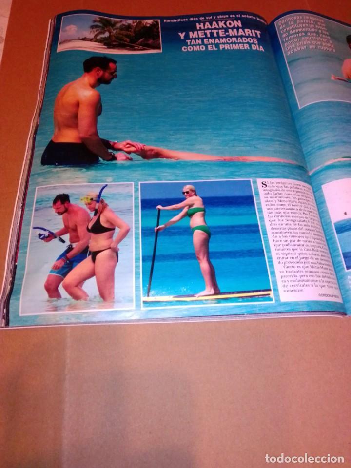Coleccionismo de Revista Hola: Hola núm 3.626. Enero 2014. Doña Letizia, Shakira y Piqué, Andrea y Tatiana... - Foto 8 - 222189002