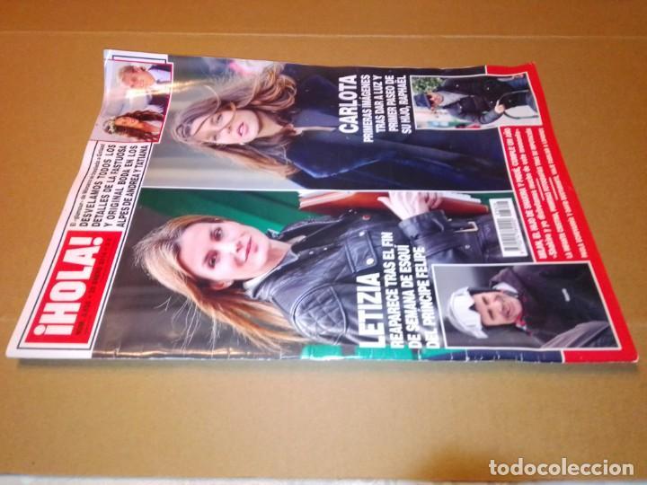 Coleccionismo de Revista Hola: Hola núm 3.626. Enero 2014. Doña Letizia, Shakira y Piqué, Andrea y Tatiana... - Foto 11 - 222189002