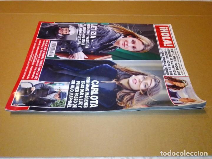 Coleccionismo de Revista Hola: Hola núm 3.626. Enero 2014. Doña Letizia, Shakira y Piqué, Andrea y Tatiana... - Foto 12 - 222189002
