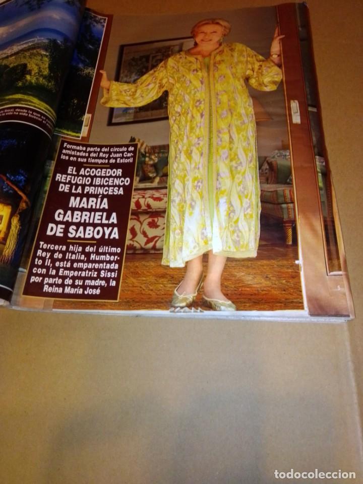 Coleccionismo de Revista Hola: Hola núm 3.596. Julio 2013. Isabel Sartorius, Sara Carbonero, María Gabriela de Saboya... - Foto 2 - 222189415