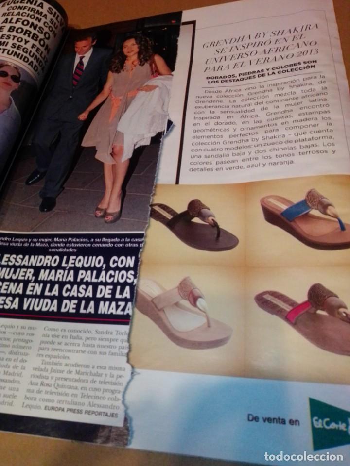 Coleccionismo de Revista Hola: Hola núm 3.596. Julio 2013. Isabel Sartorius, Sara Carbonero, María Gabriela de Saboya... - Foto 7 - 222189415