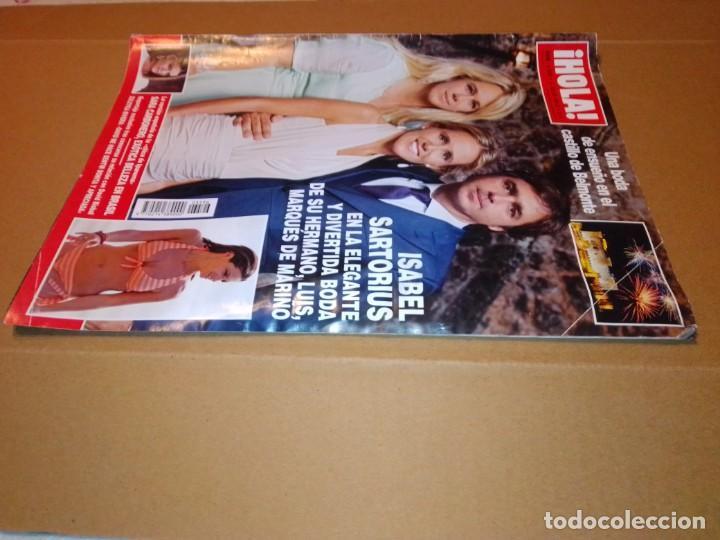 Coleccionismo de Revista Hola: Hola núm 3.596. Julio 2013. Isabel Sartorius, Sara Carbonero, María Gabriela de Saboya... - Foto 12 - 222189415