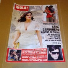 Coleccionismo de Revista Hola: HOLA NÚM 3.593. JUNIO 2013. SONIA FERRER, SARA CARBONERO, ALFONSO DE BORBÓN.... Lote 222190906