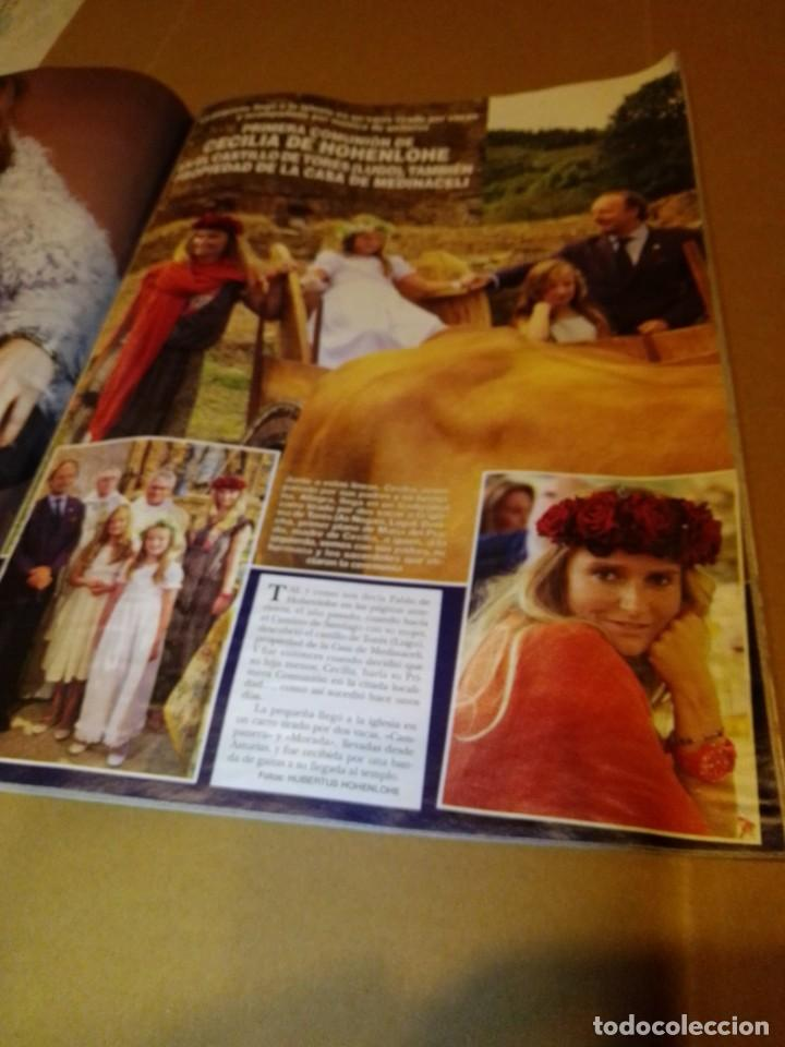 Coleccionismo de Revista Hola: Hola núm 3.659. Septiembre 2014. Isabel Preysler, Carmen Martínez-Bordiu, .... - Foto 3 - 222191747