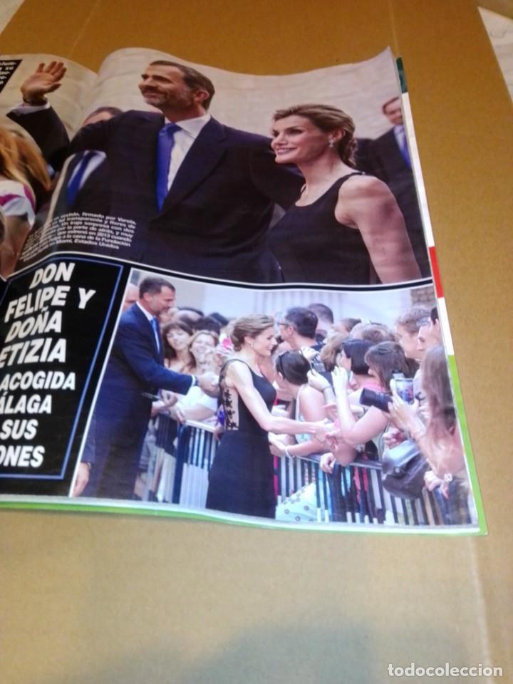 Coleccionismo de Revista Hola: Hola núm 3.659. Septiembre 2014. Isabel Preysler, Carmen Martínez-Bordiu, .... - Foto 8 - 222191747