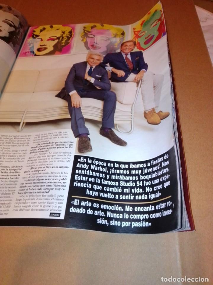 Coleccionismo de Revista Hola: Hola núm 3.614. Noviembre 2013. Príncipe George, Isabel Preysler, Don Felipe, Manolo Escobar... - Foto 3 - 222192472