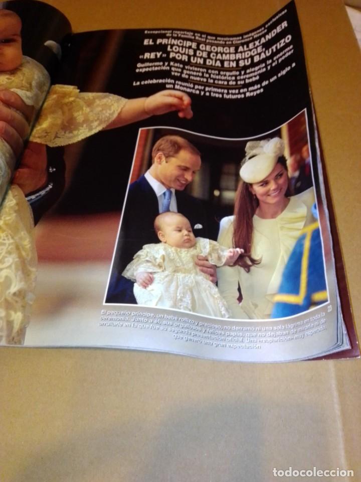 Coleccionismo de Revista Hola: Hola núm 3.614. Noviembre 2013. Príncipe George, Isabel Preysler, Don Felipe, Manolo Escobar... - Foto 4 - 222192472