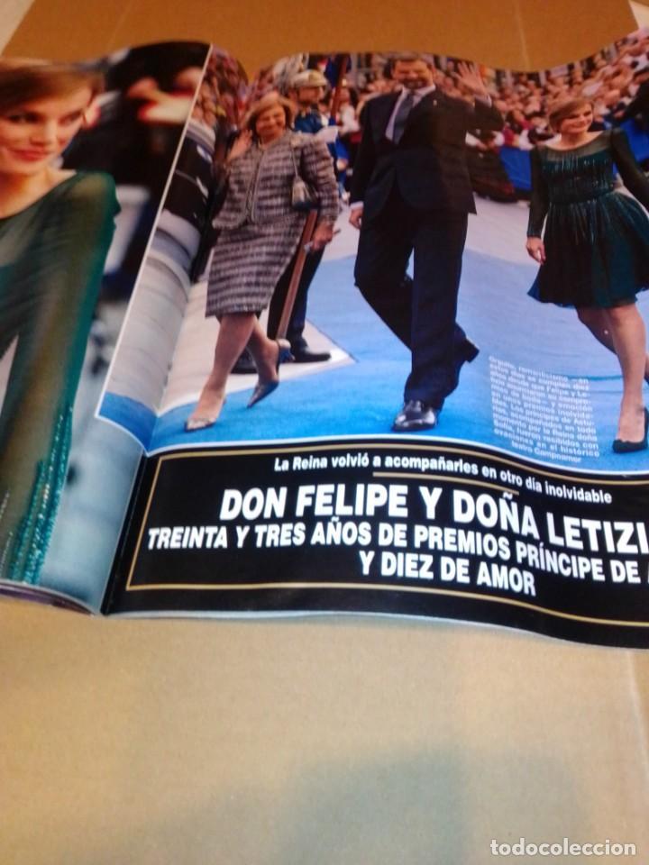 Coleccionismo de Revista Hola: Hola núm 3.614. Noviembre 2013. Príncipe George, Isabel Preysler, Don Felipe, Manolo Escobar... - Foto 6 - 222192472
