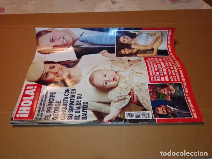 Coleccionismo de Revista Hola: Hola núm 3.614. Noviembre 2013. Príncipe George, Isabel Preysler, Don Felipe, Manolo Escobar... - Foto 10 - 222192472