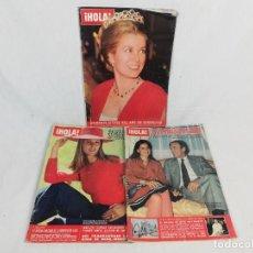 Collectionnisme de Magazine Hola: LOTE DE REVISTAS HOLA -LOS MAQUESES DE GRIÑON-LA PRINCESA GRACIA DE MONACO-LA DUQUESA DE ALBA-1981. Lote 222233678