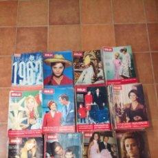 Coleccionismo de Revista Hola: HOLA - AÑOS COMPLETOS: DESDE 1961 A 1973 INCLUIDOS - 580 REVISTAS. Lote 222478593