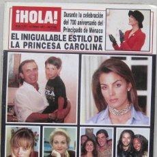 Collezionismo di Rivista Hola: HOLA - Nº 2737 - 23 ENERO 1997 - REVISTA. Lote 222628472