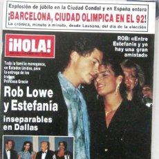 Collectionnisme de Magazine Hola: HOLA - Nº 2202 - 1 NOVIEMBRE 1986 - REVISTA. Lote 222630717