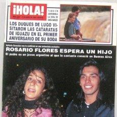 Collectionnisme de Magazine Hola: HOLA - Nº 2693 - 21 MARZO 1996 - REVISTA. Lote 222639022