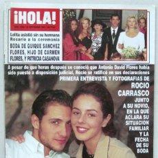 Collectionnisme de Magazine Hola: HOLA - Nº 2668 - 28 SEPTIEMBRE 1995 - REVISTA. Lote 222656347