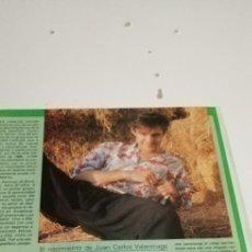 Coleccionismo de Revista Hola: CC1 RECORTE DE REVISTA. Lote 223716043