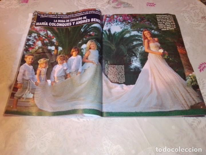 Coleccionismo de Revista Hola: Revista Hola núm 3.612 - octubre 2013. María Colonques. - Foto 5 - 224480462