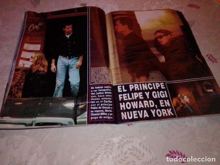Coleccionismo de Revista Hola: Revista Hola núm 2.675 - noviembre 1995. Príncipe Felipe, Nina - Foto 7 - 224562715