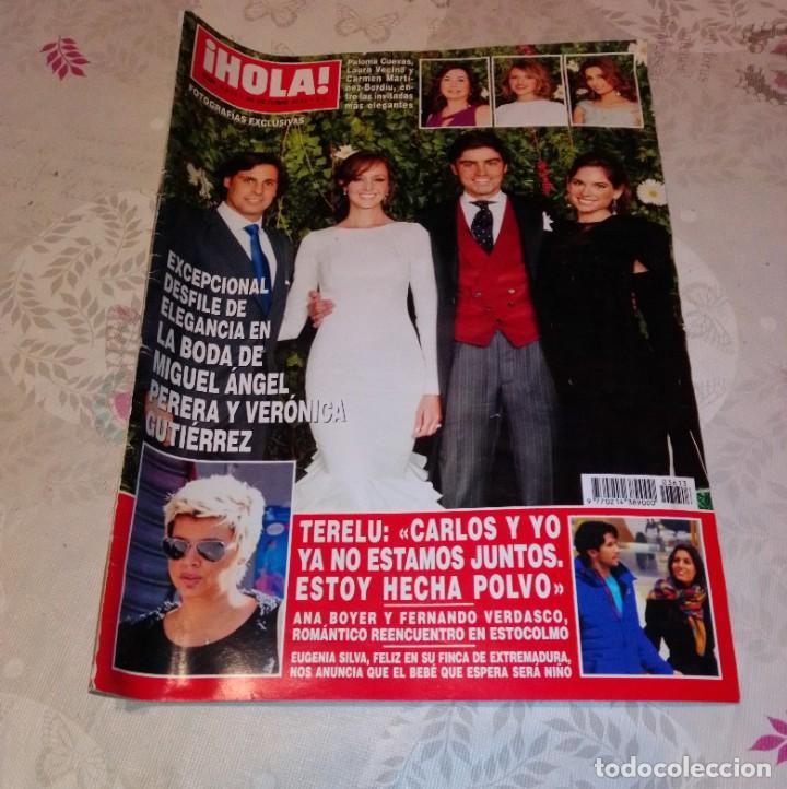 REVISTA HOLA NÚM 3.613 - OCTUBRE 2013. MIGUEL ÁNGEL PERERA. (Coleccionismo - Revistas y Periódicos Modernos (a partir de 1.940) - Revista Hola)