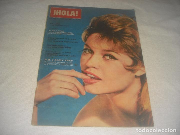 HOLA ! N. 948 , OCTUBRE 1962. BRIGITTE BARDOT (Coleccionismo - Revistas y Periódicos Modernos (a partir de 1.940) - Revista Hola)
