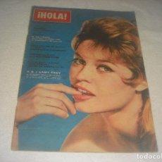 Coleccionismo de Revista Hola: HOLA ! N. 948 , OCTUBRE 1962. BRIGITTE BARDOT. Lote 224569846
