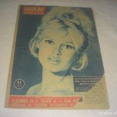 Coleccionismo de Revista Hola: HOLA ! N. 797 . DICIEMBRE 1958 . EN PORTADA BRIGITTE BARDOT. Lote 224575010