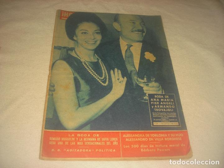 HOLA ! N. 913 .MARZO 1962. PIER ANGELI, BRIGIT BARDOT .... (Coleccionismo - Revistas y Periódicos Modernos (a partir de 1.940) - Revista Hola)
