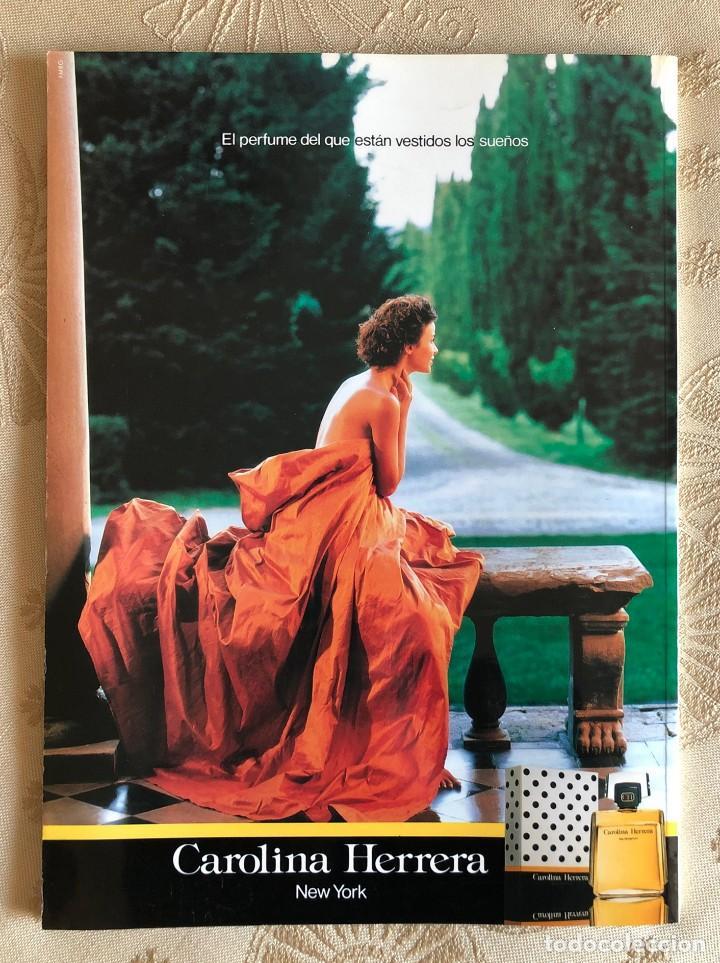 Coleccionismo de Revista Hola: Hola. Número Especial Alta Costura. Moda. Diseño. Primavera Verano 1997. Claudia Schiffer. España - Foto 2 - 225833355