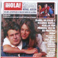 Collectionnisme de Magazine Hola: HOLA - Nº 2548 - 10 JUNIO 1993 - REVISTA. Lote 226238233