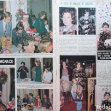 Coleccionismo de Revista Hola: RECORTE REVISTA HOLA Nº 1637 1976 CAROLINA DE MÓNACO. DEWI SUKANO. Lote 226375050