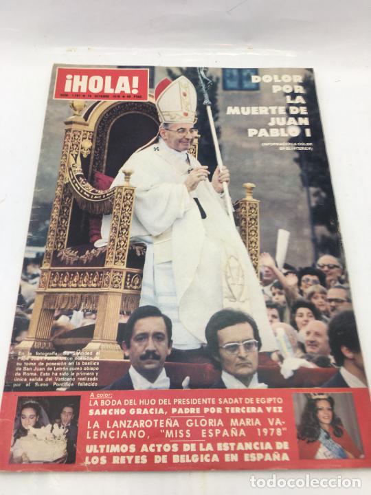 ¡HOLA! - Nº 1781 - 14 DE OCTUBRE DE 1978 (Coleccionismo - Revistas y Periódicos Modernos (a partir de 1.940) - Revista Hola)