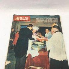 Coleccionismo de Revista Hola: ¡HOLA! - Nº 1087 - 26 DE JUNIO DE 1965. Lote 226906610