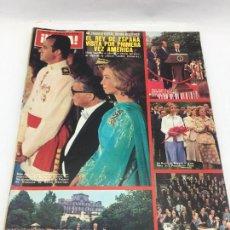 Coleccionismo de Revista Hola: ¡HOLA! - Nº 1659 - 12 DE JUNIO DE 1978 - EL REY DE ESPAÑA VISITA POR PRIMERA VEZ AMERICA. Lote 226951710