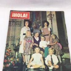 Coleccionismo de Revista Hola: ¡HOLA! - Nº 1376 - 9 DE ENERO DE 1971. Lote 226952730