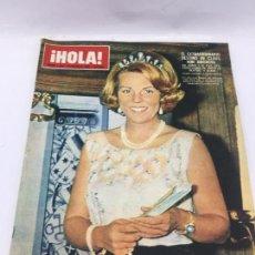 Coleccionismo de Revista Hola: ¡HOLA! - Nº 1124 - 12 DE MARZO DE 1966 - EL EXTRAORDINARIO DESTINO DE CLAUSS VON AMSBERG. Lote 226953120