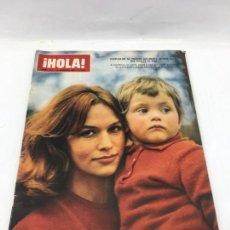 Coleccionismo de Revista Hola: ¡HOLA! - Nº 1121 - 19 DE FEBRERO DE 1966 - JEANNE VALERIE VUELVE AL CINE. Lote 226953440