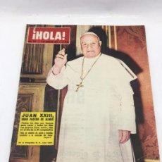 Coleccionismo de Revista Hola: ¡HOLA! - Nº 979 - 1 DE JUNIO DE 1963 - JUAN XXIII - MISS ESPAÑA - FESTIVAL DE CANNES. Lote 226954176