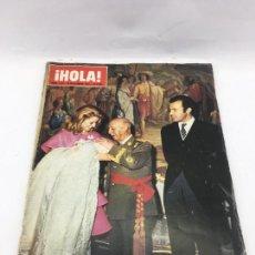 Coleccionismo de Revista Hola: ¡HOLA! - Nº 1479 - 30 DE DICIEMBRE DE 1972 - BAUTIZO DEL BIZNIETO DE FRANCO. Lote 226955400